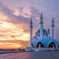 Кул-Шариф на закате. :: Александр Назаров