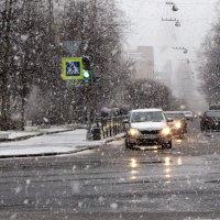 В Петербург вернулась зима... на один день ) :: Ирина Румянцева