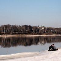 На Волге весной :: Николай Белавин