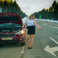 девушка за рулем :: Александра Кротикова