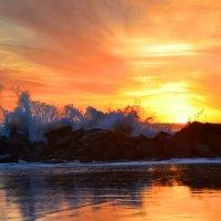 Океанский закат :: Николай Танаев