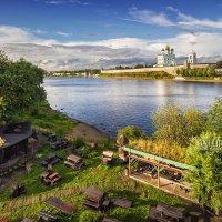 Кафе на берегу :: Юлия Батурина
