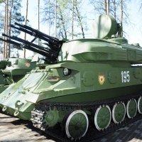 Военная техника в парке :: Сергей Тагиров