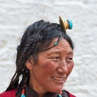 Женщина Тибета. :: Ирина Токарева