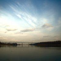 Вечерний пейзаж февраля :: Леонид