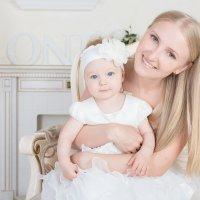 """Мамочка и доченька :: Первая Детская Фотостудия """"Арбат"""""""