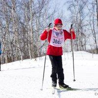 юный лыжник. :: Олег Казаков