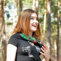 Однажды в парке-3 :: Полина Потапова