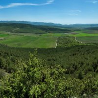 Скалы и долина Кара-Коба :: Игорь Кузьмин