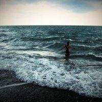 Черное море волнуется...... :: Александра Полякова-Костова
