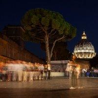 Musei Vaticani ночью :: Aivaras Troščenka