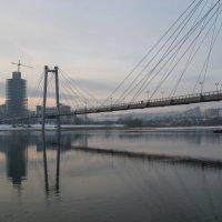 Виноградовский вантовый мост, г. Красноярск :: Margarita Pavlova