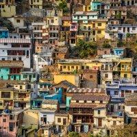 Густая заселенность или разноцветные квадратики :: Марина Семенкова