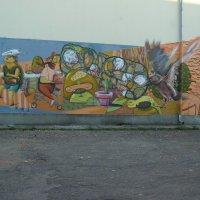 Художественое   граффити  Ивано - Франковска :: Андрей  Васильевич Коляскин