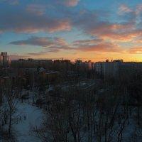 Закат. Екатеринбург :: Александр Коликов