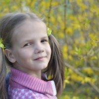 портрет в цветах :: Мария Климова