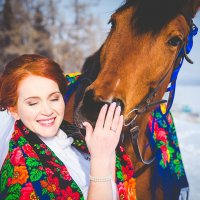 невеста Оленька :: Ксения Цапко
