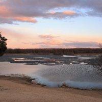 Апрель на озере Святое :: Николай Масляев