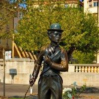 Швейцария, Веве. Памятник Чарли Чаплину. :: Наталья Иванова