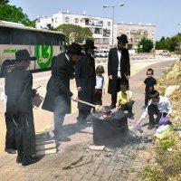 сжигание квасного(שריפת חמץ)«Израиль, всё о религии...»3 :: Shmual Hava Retro