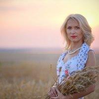 Закат в поле :: Галина Сергеевна