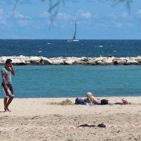 Море в Бари :: Любовь Бутакова