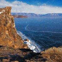 Лёд и скалы_3 :: Анатолий Иргл