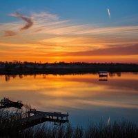 Весенний закат. :: Svetlana Sneg