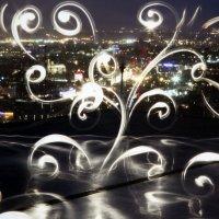 ночной вид на город :: Олег Лукьянов