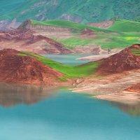 Таджикистан. Нурекское водохранилище :: Ирина Токарева