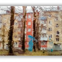 В городе дождь :: Александр Буторин