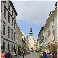 Михайловские ворота в Братиславе, столице Словакии... 3/3 :: Dana Spissiak