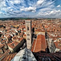 Панорама Флоренции, колокольня Джотто :: Виталий Авакян
