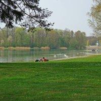 По-летнему теплый апрельский день.... :: Galina Dzubina