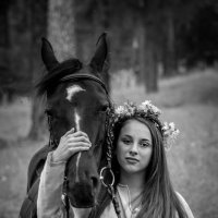 Только мы с конём... :: Владимир Батурин