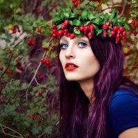 девушка-осень :: Ольга Игнатьева