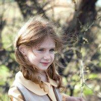 Девочка с веснушками :: Juli Chaynikova