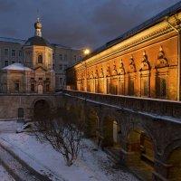 Высоко-Петровский монастырь. Нарышкинские палаты :: Ирина Климова