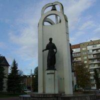 Памятник  Лесе  Украинке  в  Стрыю :: Андрей  Васильевич Коляскин