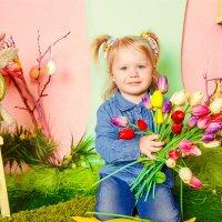 Очаровательные весенние малыши в ожидании пасхи :) :: Кристина Беляева