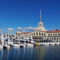 Морской порт в Сочи :: Валентина Юшкова