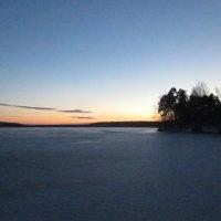 Зимний закат :: Valentina