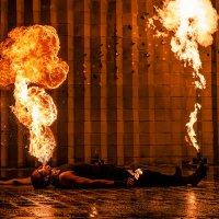 Fire Show :: Aliaksandr Tarasevich