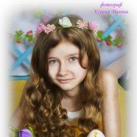 Пасхальная открытка :: Ксения