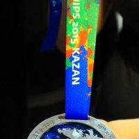 Медаль С Чемпионата Европы :: Anastasia Silver