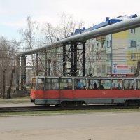 Городской трамвай. :: Олег Афанасьевич Сергеев