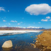 Река, небо, берега :: Анатолий Иргл