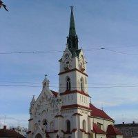Римо - католический  храм  в  Стрыю :: Андрей  Васильевич Коляскин