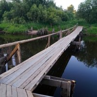 мостик через Лалу :: Наталья Зимирева