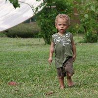 Малыш шагает по планете.Папуа Новая Гвинея :: Антонина